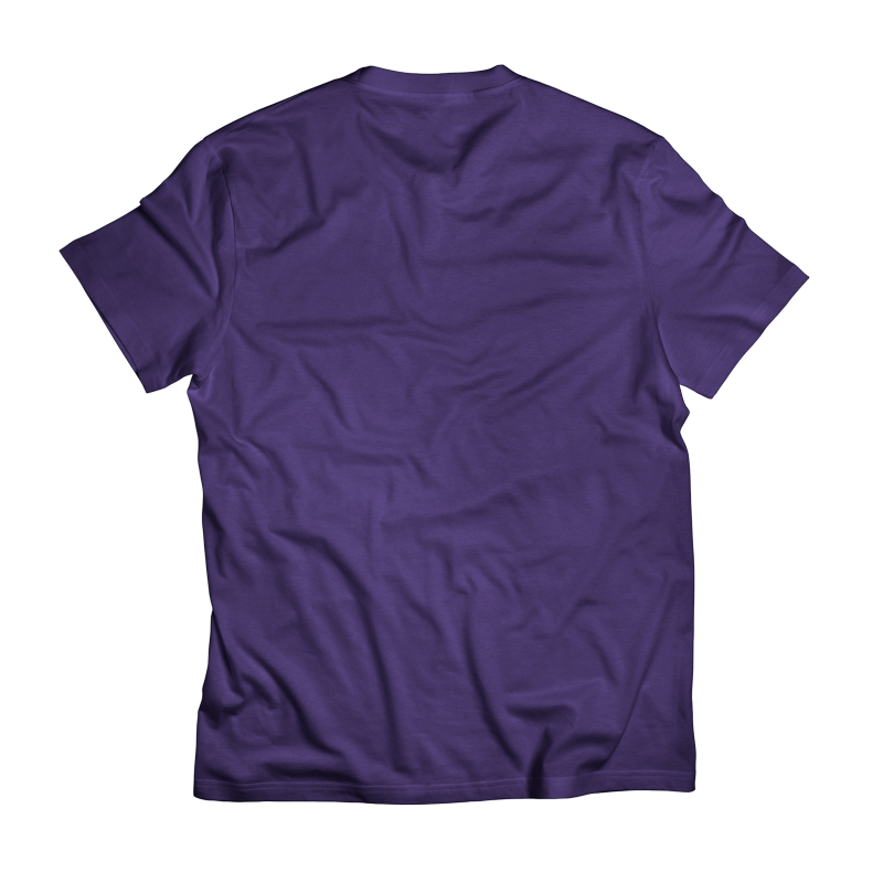 Locals_Crew_T-Shirt-Purple_Lime_Back