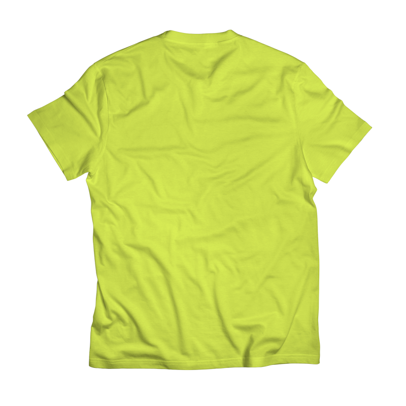 Locals_Crew_T-Shirt-Uomo_Lime_Back