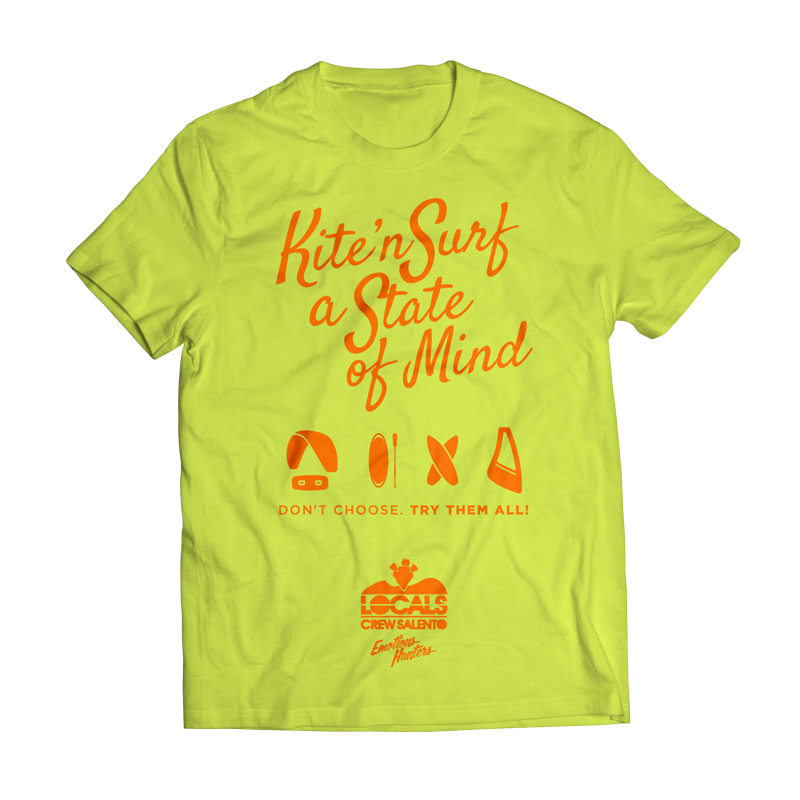 Locals_Crew_T-Shirt-Uomo_Lime_Front