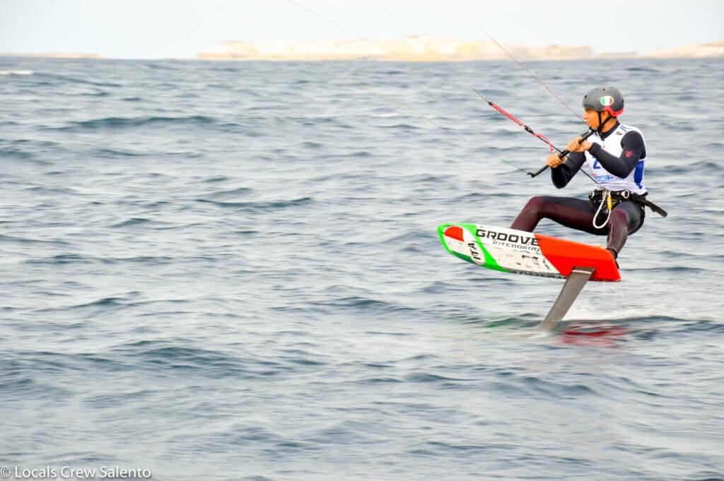 Campionato Italiano Hydrofoil Locals Crew Salento - I regatanti U17 e U19 sono stati una grande soddisfazione
