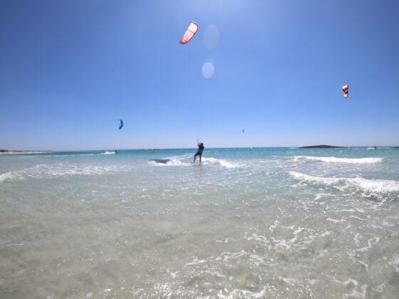kitesurfing spot
